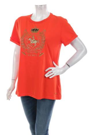 Тениска с щампа LA MARTINA