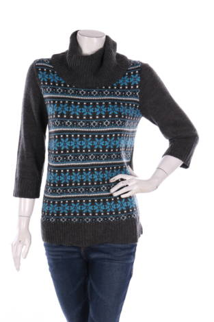 Пуловер с поло яка DRESSBARN