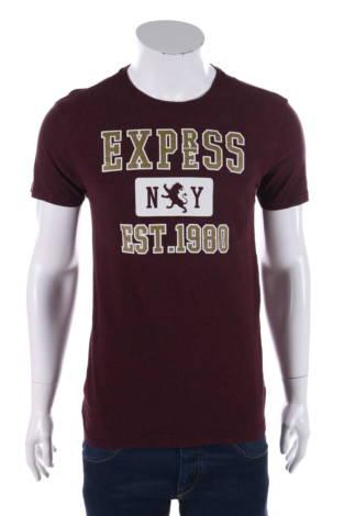 Тениска с щампа Express