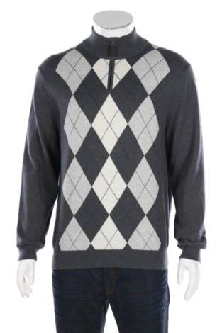 Пуловер с поло яка Tasso Elba