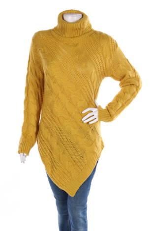Пуловер с поло яка Lola B.