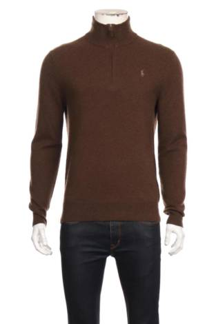 Пуловер с поло яка POLO BY RALPH LAUREN