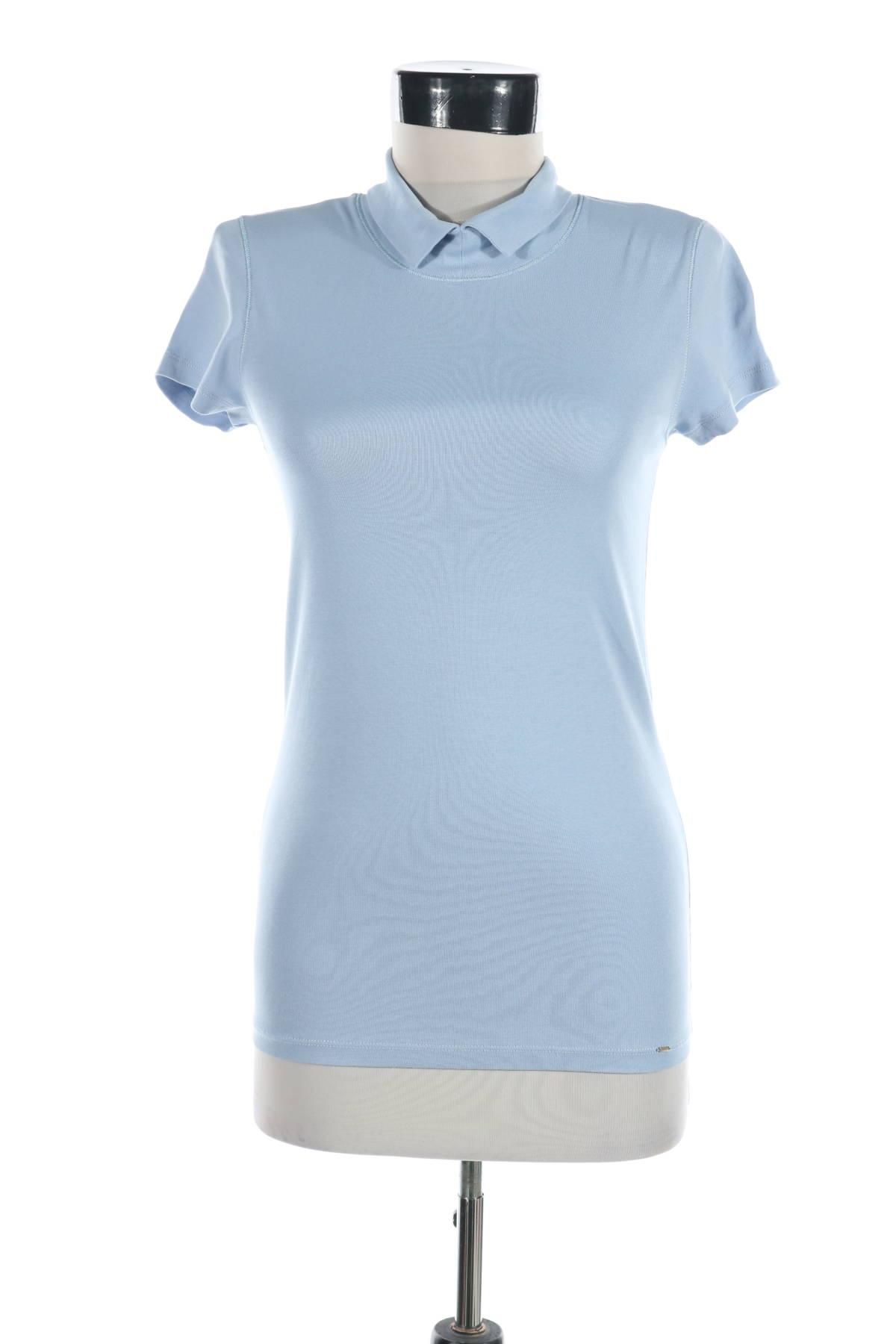Блуза с поло яка Marc Cain1