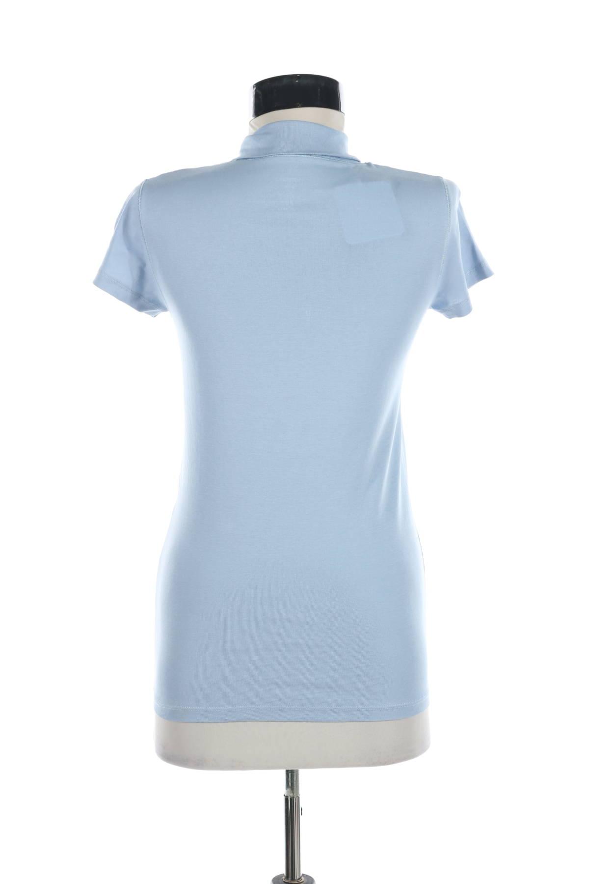 Блуза с поло яка Marc Cain2