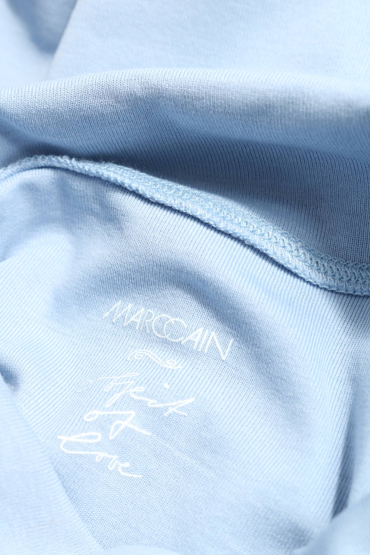Блуза с поло яка Marc Cain3