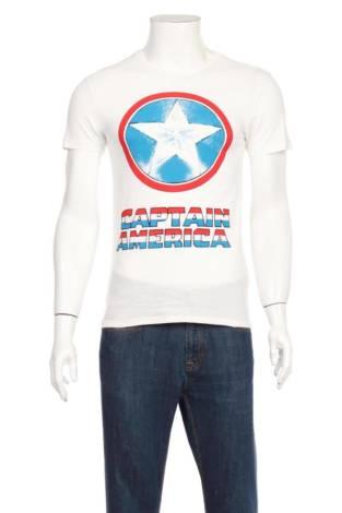 Тениска с щампа MARVEL