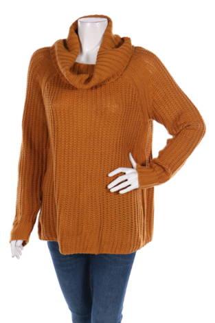 Пуловер с поло яка CHARLOTTE RUSSE