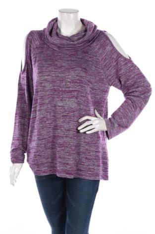 Пуловер с поло яка Apt.9