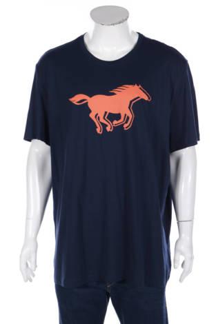 Тениска с щампа Mustang