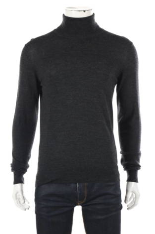 Пуловер с поло яка UNIQLO