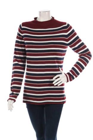 Пуловер с поло яка Esprit