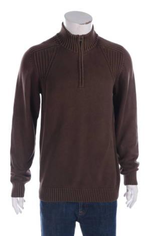Пуловер с поло яка F/x fusion