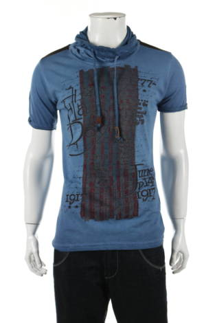 Тениска с щампа Tazzio
