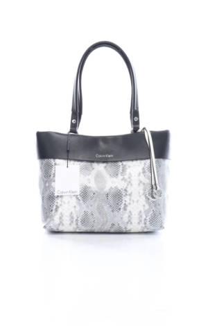Кожена чанта Calvin Klein