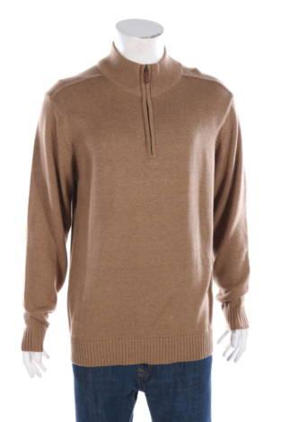 Пуловер с поло яка Oscar De La Renta