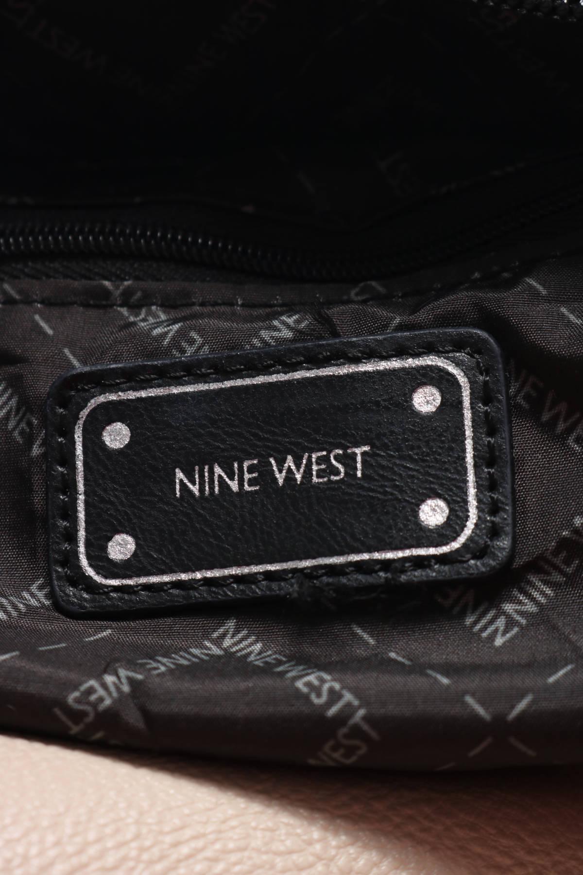 Кожена чанта Nine West3
