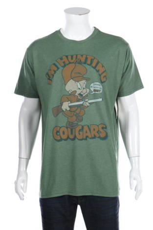 Тениска с щампа Junk Food