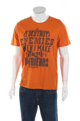 Тениска с щампа Clockhouse
