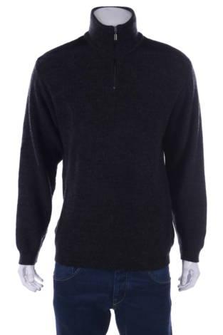 Пуловер с поло яка GARANT