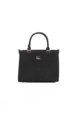Кожена чанта FLORA&CO
