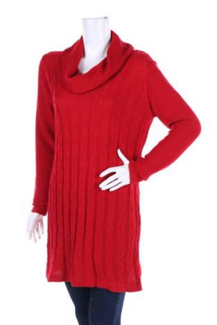 Пуловер с поло яка AGB
