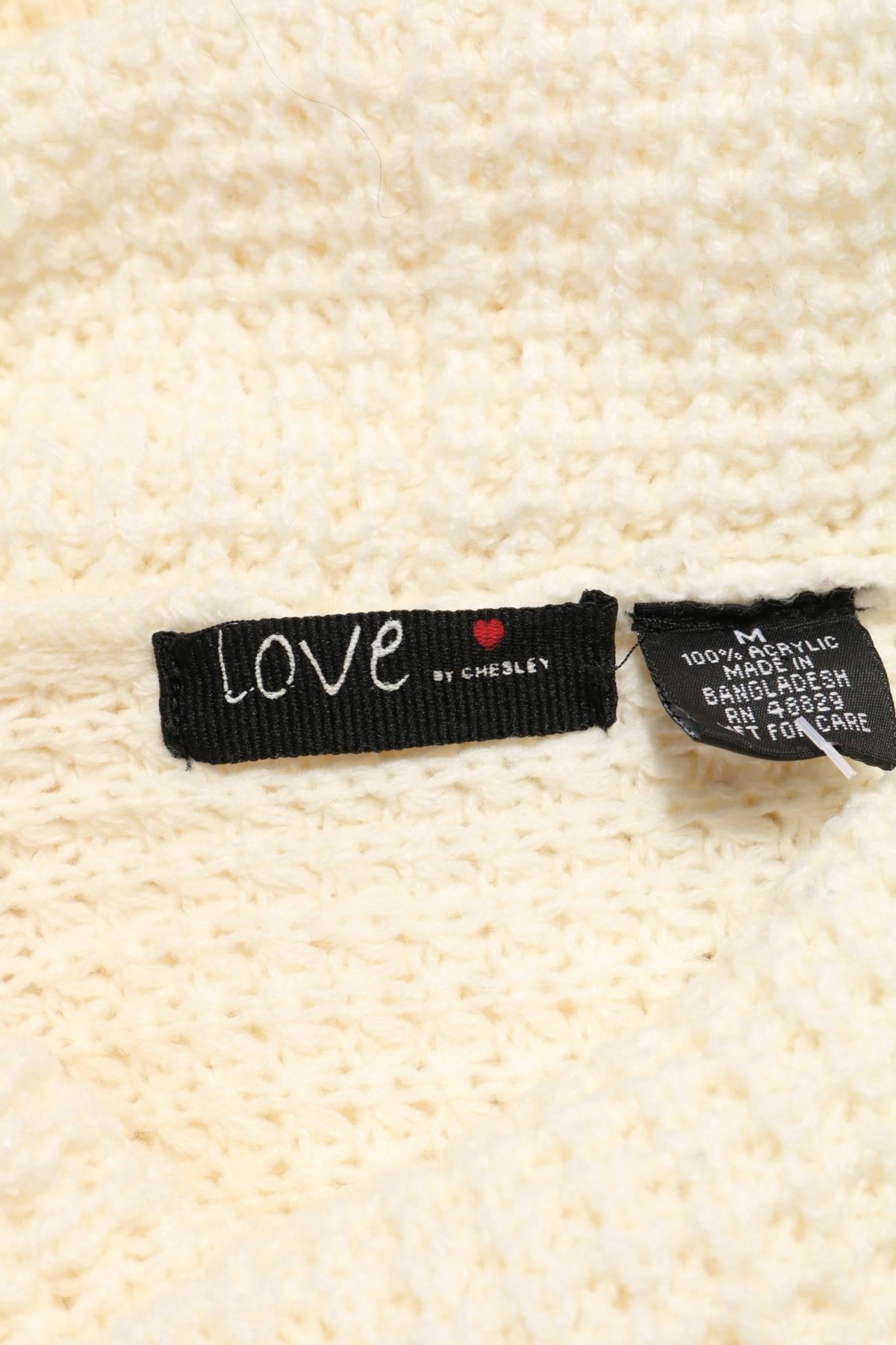 Пуловер с поло яка LOVE CHESLEY3