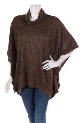 Пуловер с поло яка Faded Glory