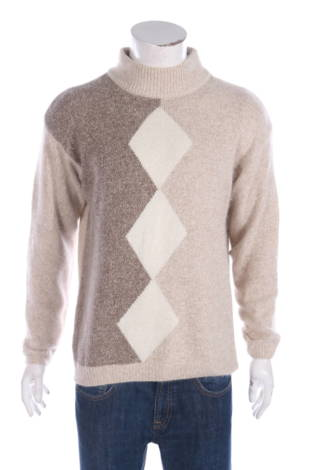 Пуловер с поло яка Premier