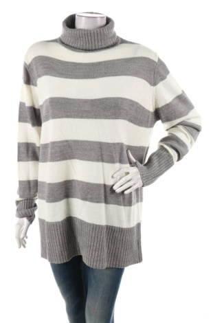 Пуловер с поло яка JANINA
