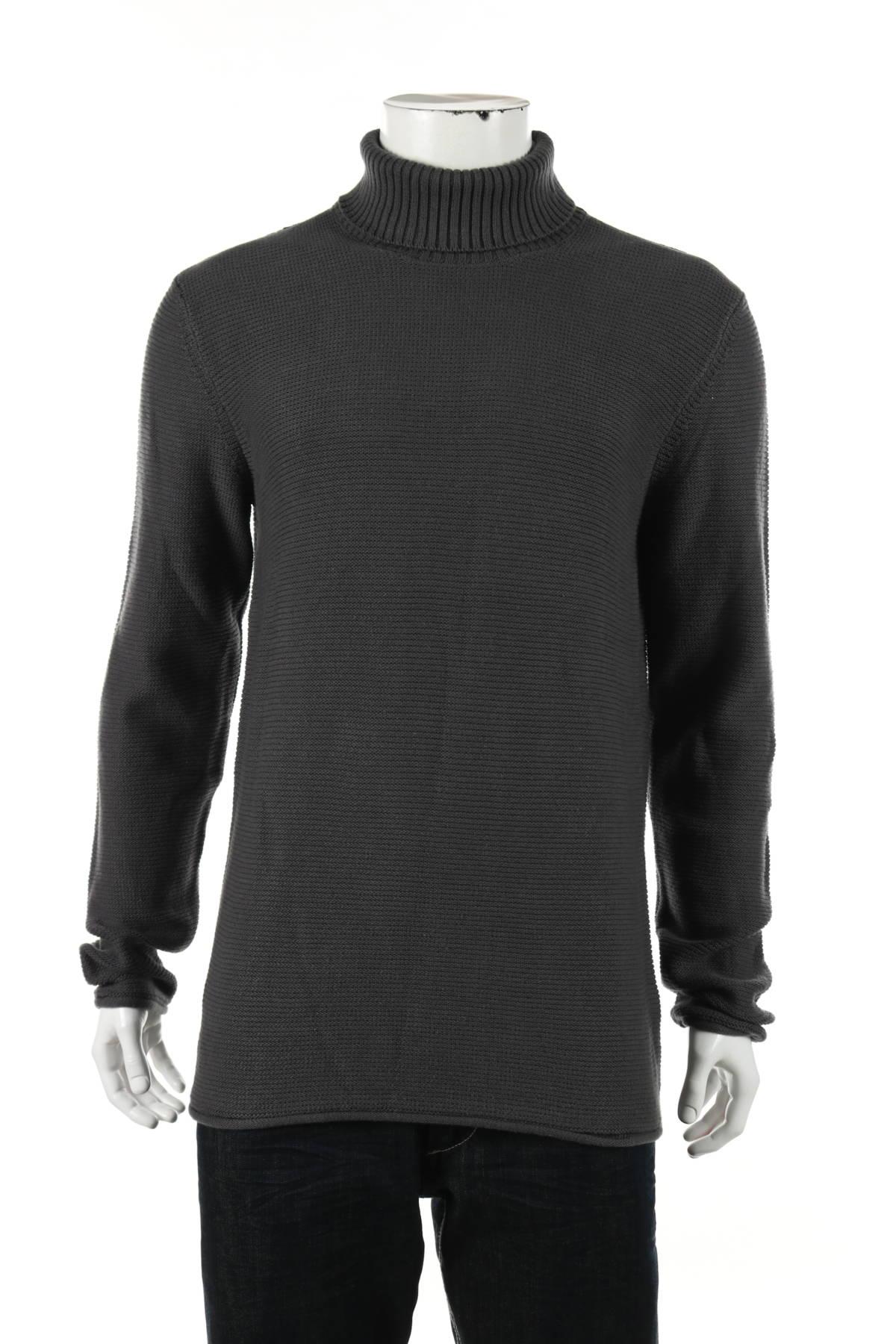 Пуловер с поло яка MR.F1