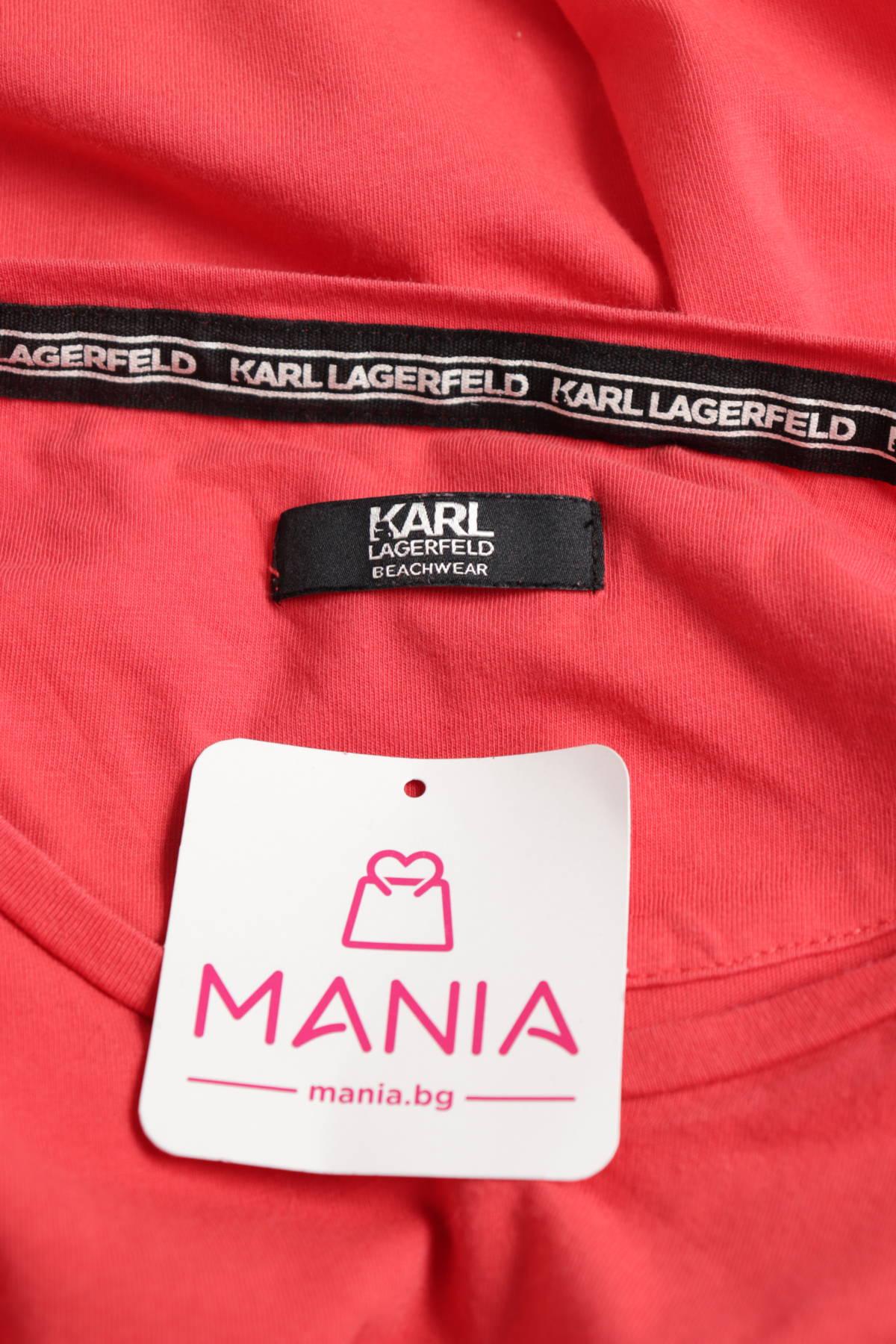 Тениска KARL LAGERFELD3