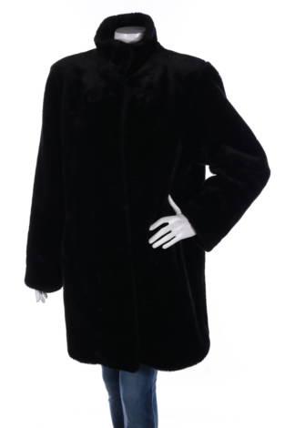 Палто с косъм Canda