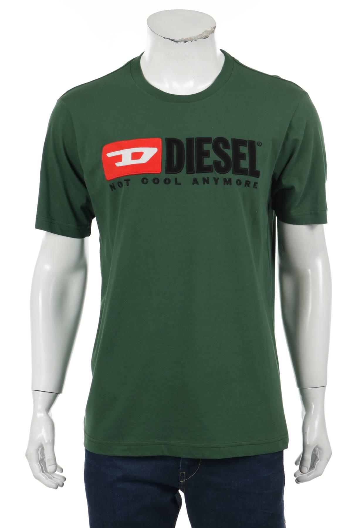 Тениска с щампа DIESEL1