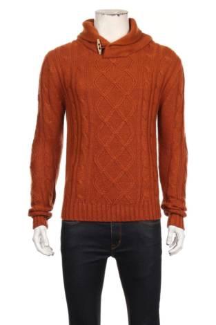 Пуловер с поло яка GLENWOOD'S