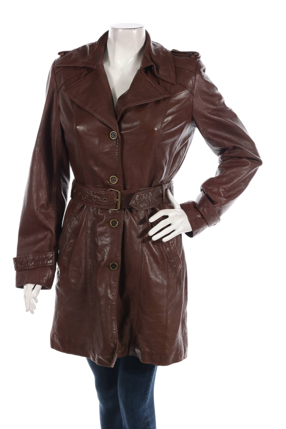Кожено палто PELLE1