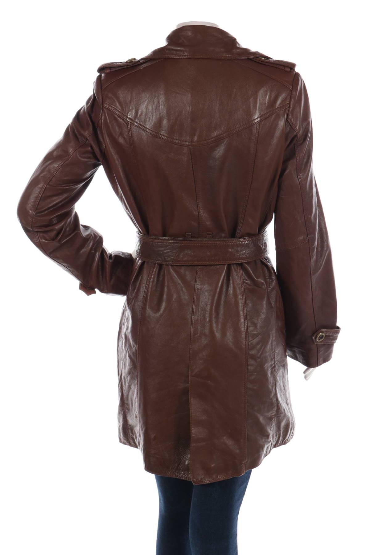 Кожено палто PELLE2