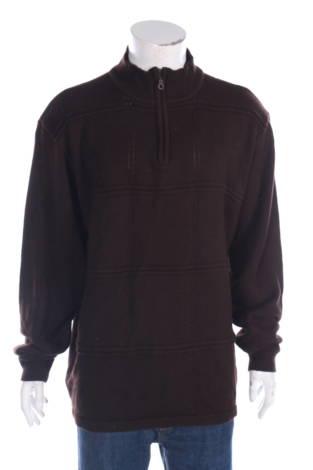 Пуловер с поло яка A.Adams&Spire