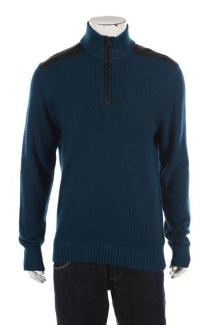 Пуловер с поло яка Kenneth Cole