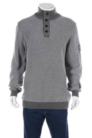 Пуловер с поло яка SIGNAL