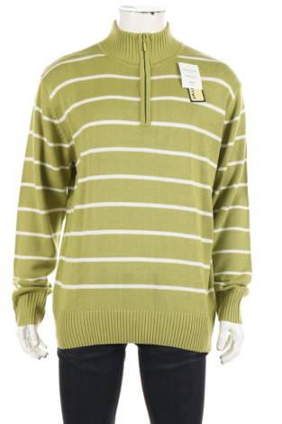 Пуловер с поло яка JOHN F. GEE