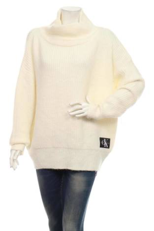 Пуловер с поло яка CALVIN KLEIN JEANS