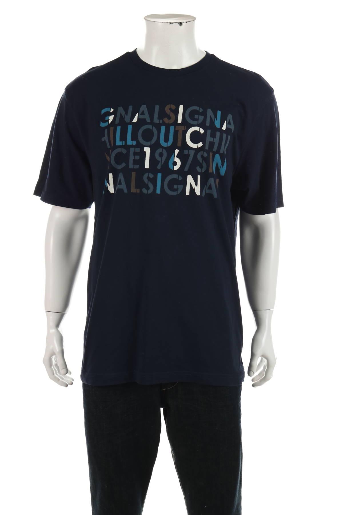 Тениска с щампа Signal1