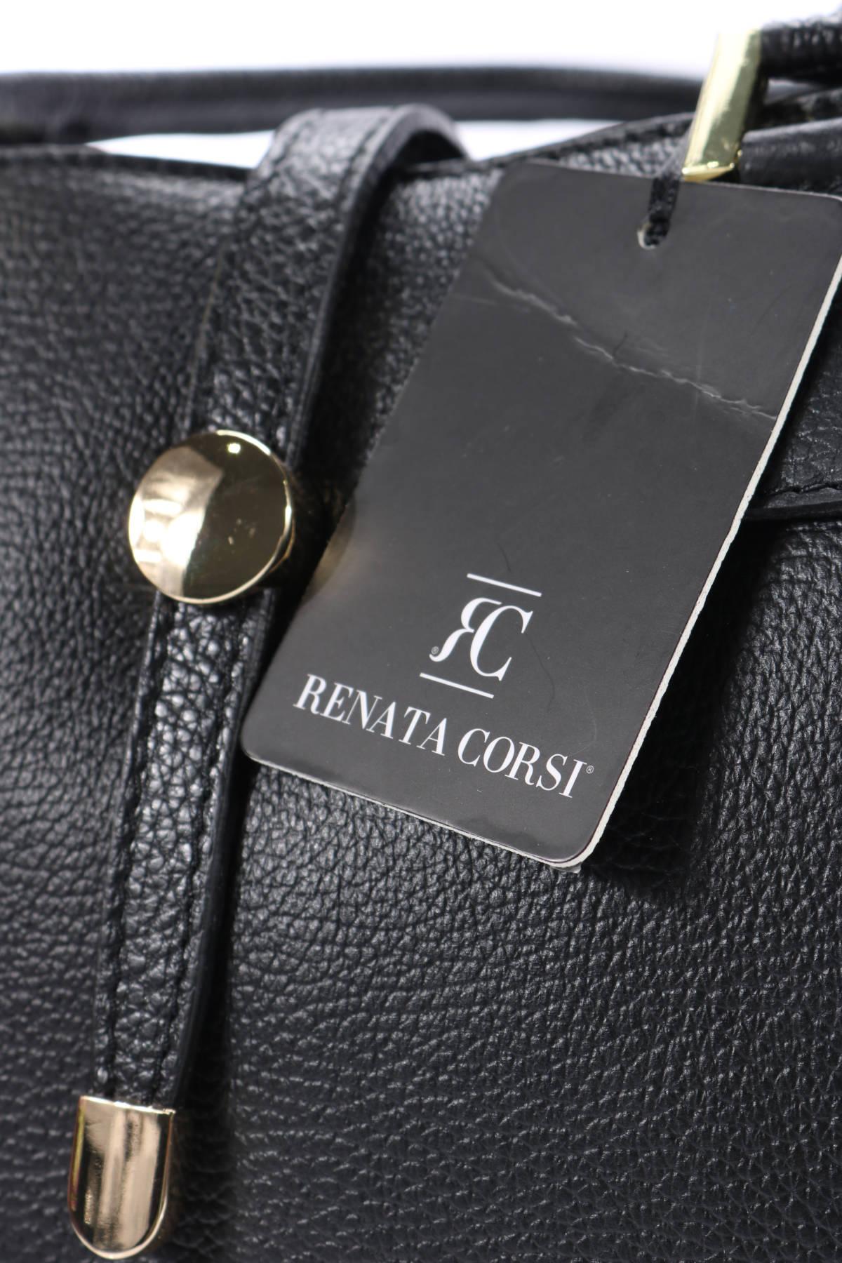 Кожена чанта RENATA CORSI4