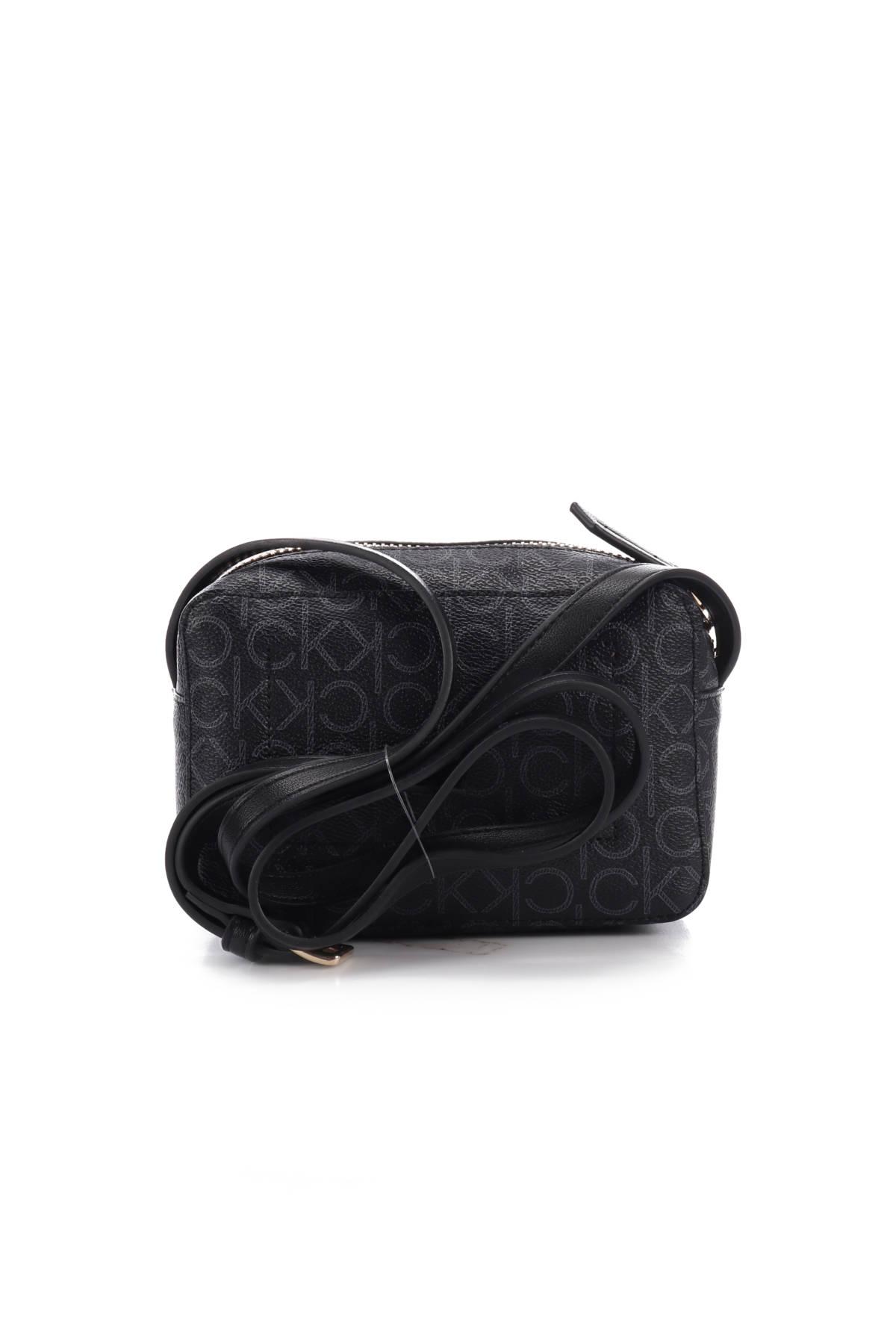 Кожена чанта Calvin Klein2