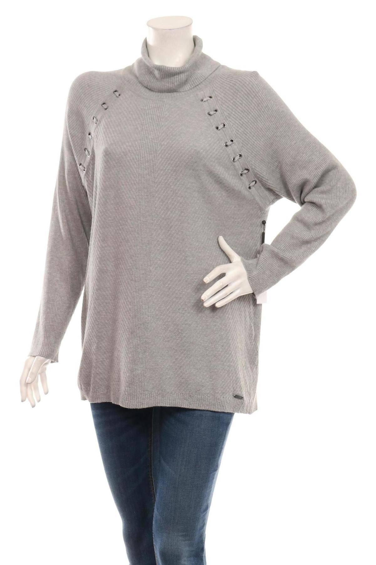 Пуловер с поло яка CALVIN KLEIN1