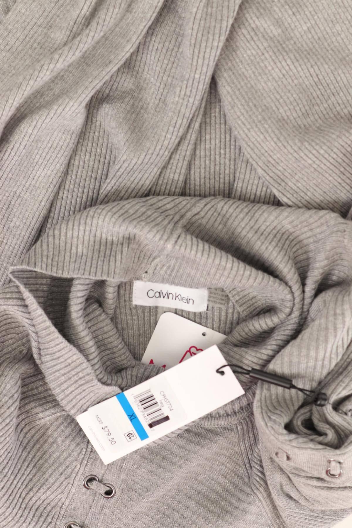 Пуловер с поло яка CALVIN KLEIN3