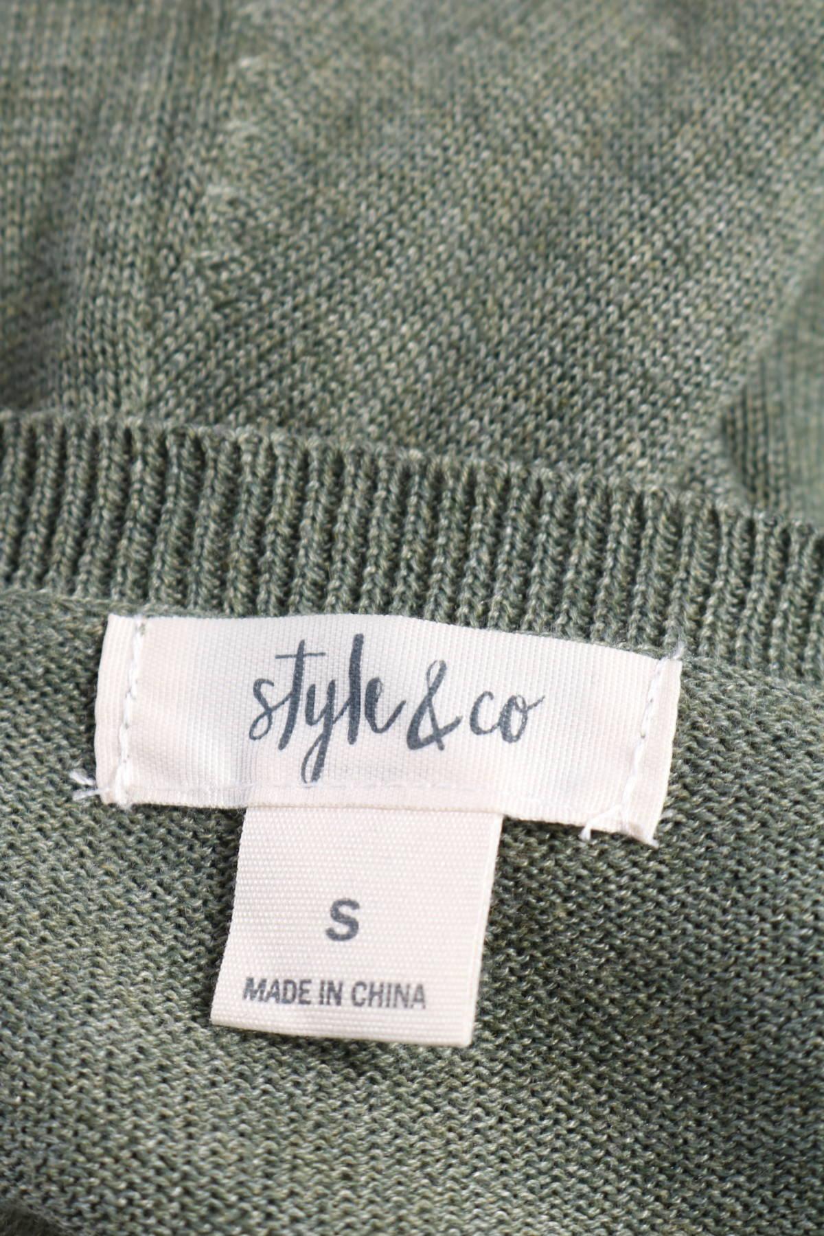 Пуловер STYLE&CO.3