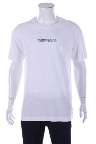 Тениска с щампа Scotch & Soda