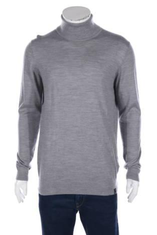 Пуловер с поло яка Indigo