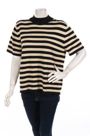 Пуловер с поло яка Liz Claiborne